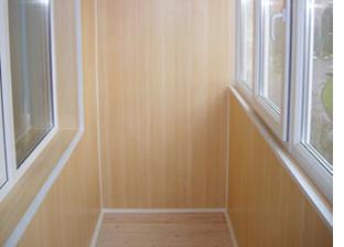Балкон отделка пвх видео