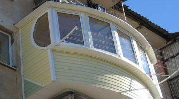 оригинальный балкон