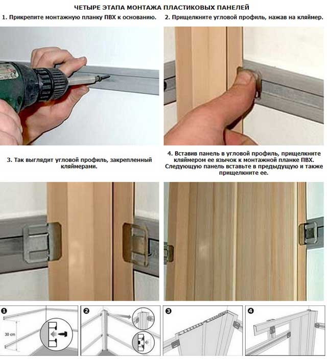 Пластиковые плиты для стен: критерии выбора и особенности монтажа