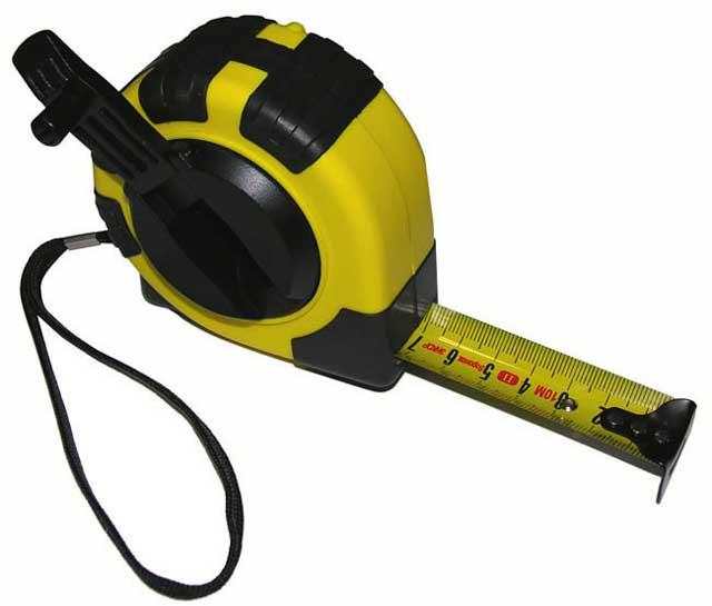 измерительный инструмент рулетка