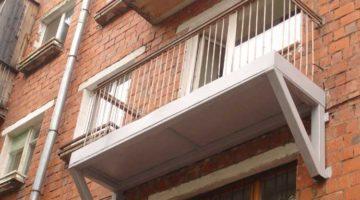 расчет плоскости балкона