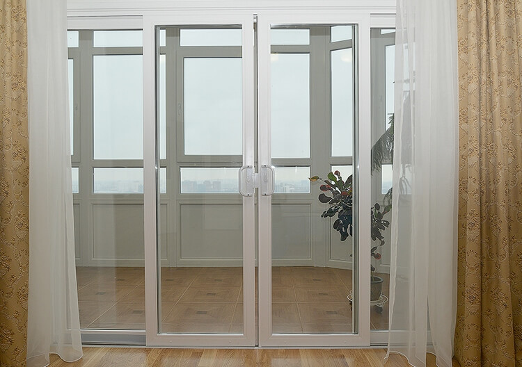 фото раздвижные двери