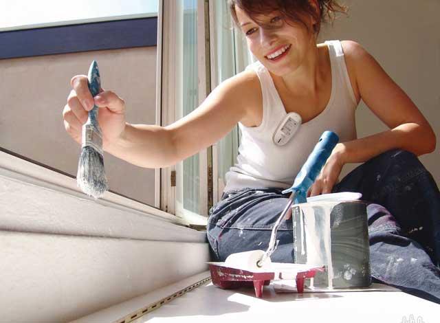 технология покраски деревянных окон