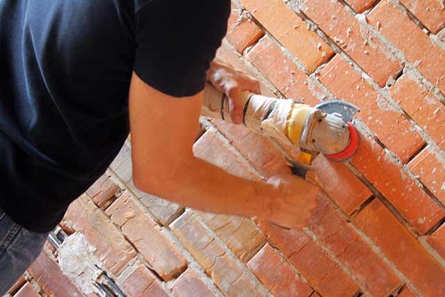 подготовка кирпичной стены к покраске
