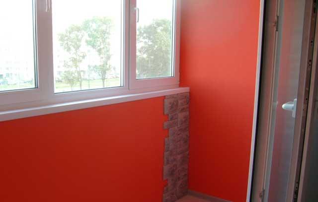 какой краской красить балкон